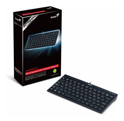teclado para tablet 7  genius  micro usb