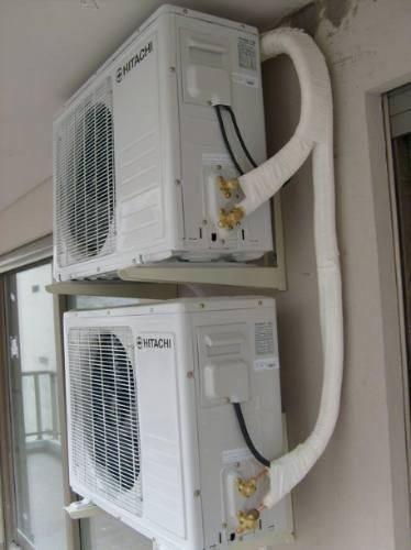 técnico, aire acondicionado