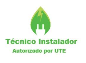 técnico instalador autorizado por ute