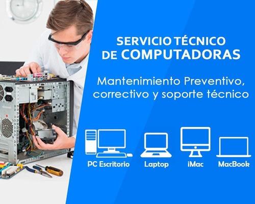 tecnico pc, notebook, redes, respaldos.