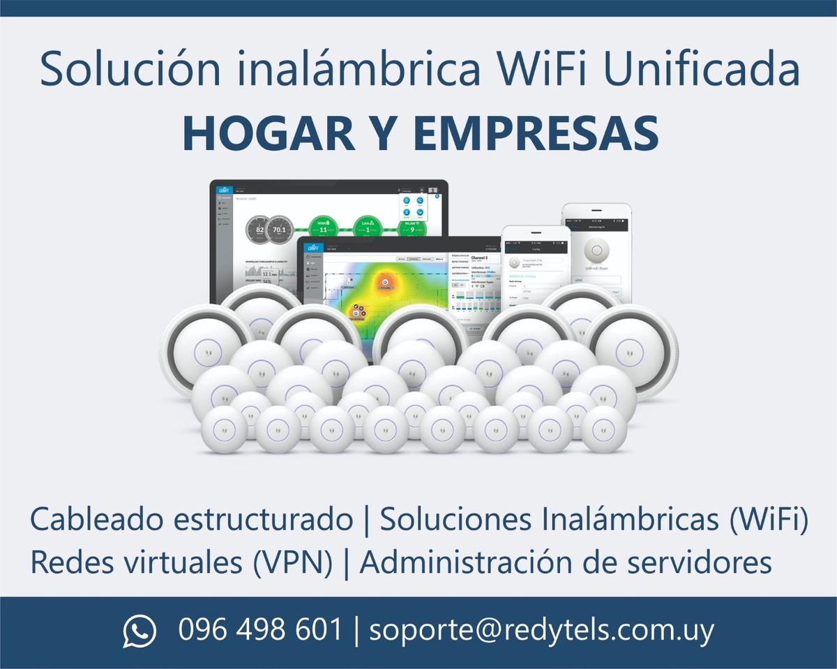 Técnico Redes Router Solución Wifi Ubiquiti Vpn Empresas