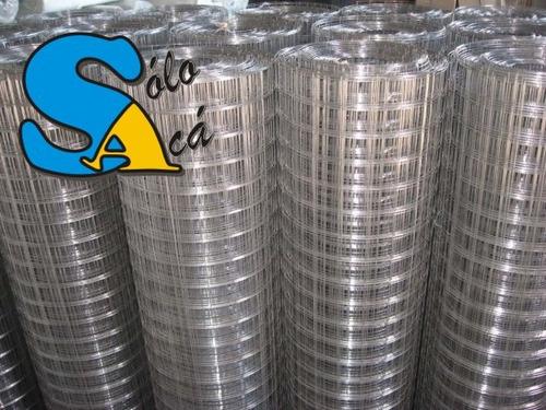 tejido alambre electrosoldado galvaniz el más grueso 7,5x5cm