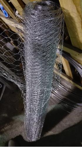 tejido malla  pollito rollo de 1 x 25   (25 m2) -  herracor
