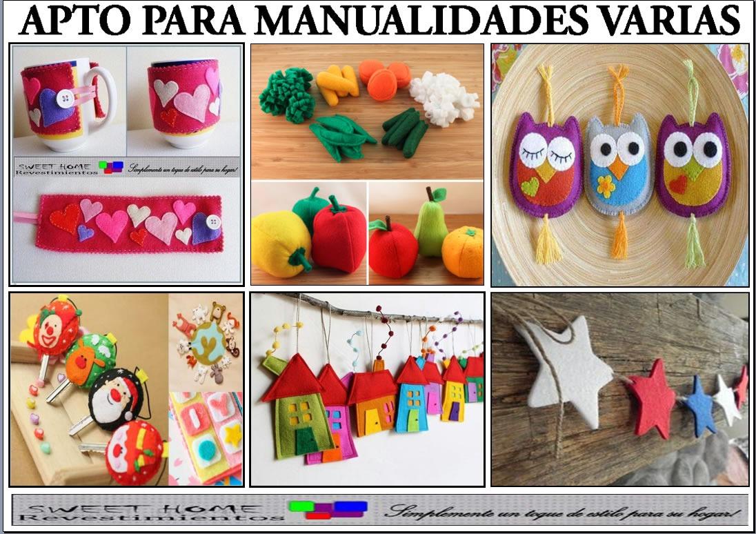 175294046d8ea Tela Fieltro Pañolenci Para Artesanías Y Manualidades -   20