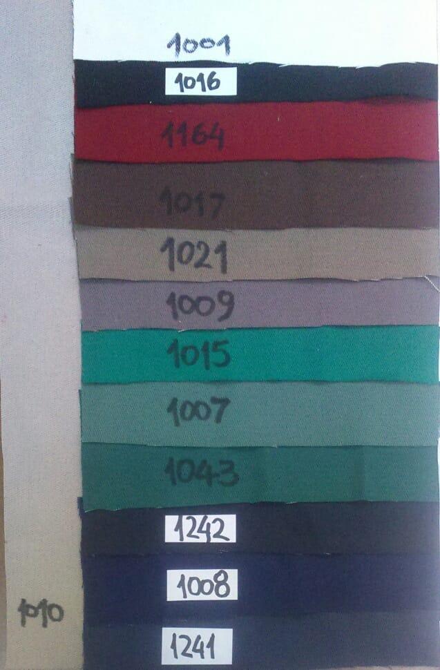 Tela Gabardina Brin Colores - $ 233,00 en Mercado Libre