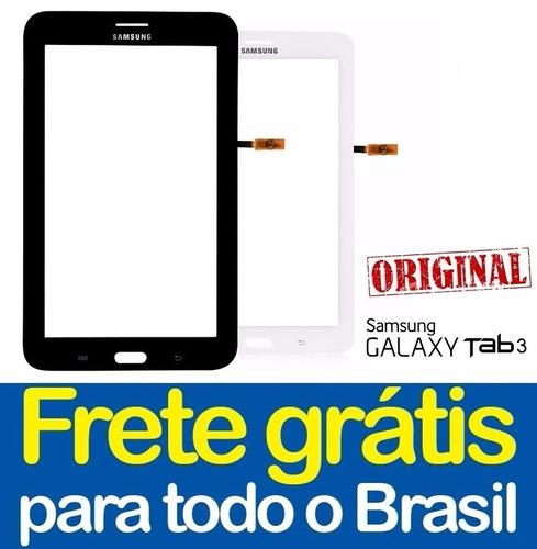 tela touch galaxy tab 3 t111 7 pol. 100% original +  cola