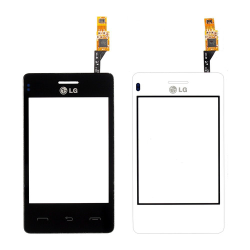 tela vidro lente touch screen lg cookie smart t375 3.2 pol