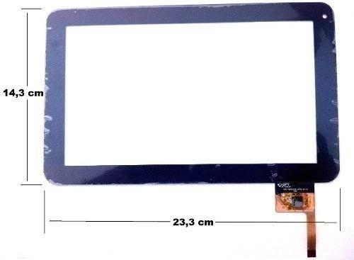 tela vidro touch tablet cce motion tab tr91 t935 orig + cola