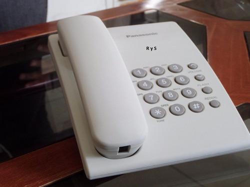 telefono analogico panasonic modelo kx-ts500