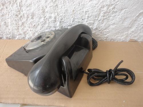 telefono antiguo de baquelita estava funcionando consulte