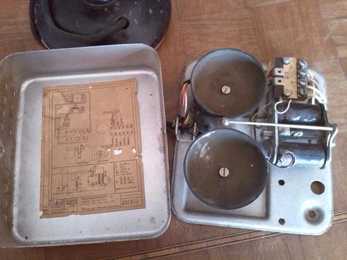 telefono candelero antiguo ericsson coleccionable