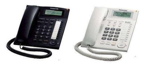 teléfono de mesa panasonic c/captor - blanco o negro