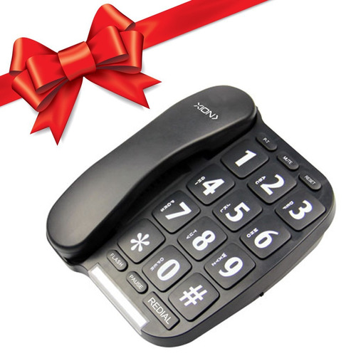 teléfono fijo de mesa con manos libres xion regalo !
