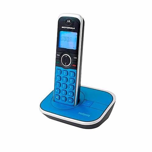 teléfono inalámbrico motorola gate 4800 dect 6 m.libres azul