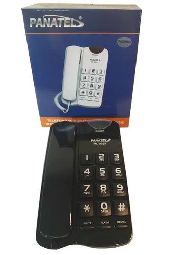 telefono mesa panatel numeros grandes ml-9035 llave opcional