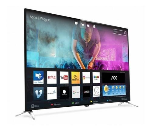 televisor led smart tv aoc 50 4k le50u6285 hdr modelo nuevo