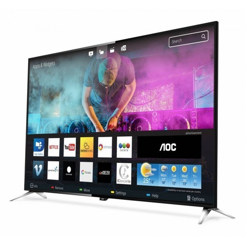 televisor led smart tv aoc 50 4k le50u7970 2 usb 4 hdmi