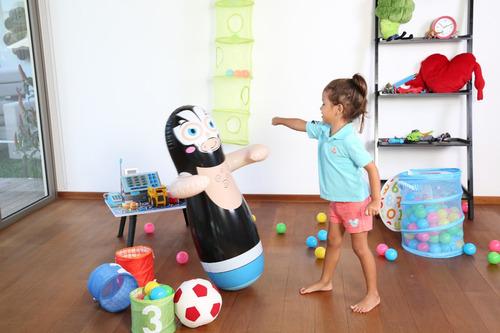 tentempie para niños juguete inflable varios colores
