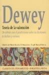 teoria de la valoracion  de dewey john  biblioteca nueva