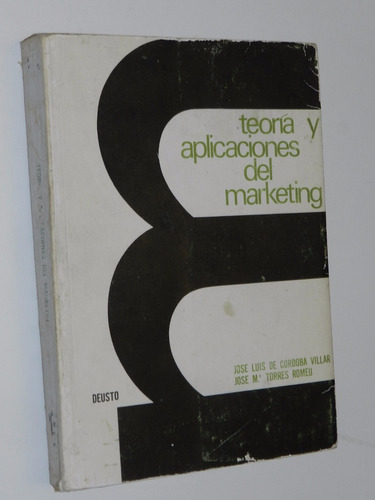 teoria y aplicaciones del marketing - cordoba villar