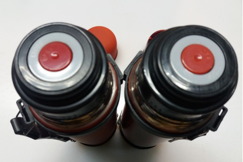 termo acero inox. 1lt  colores - herracor