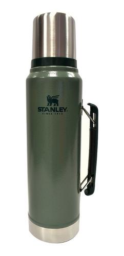 termo stanley 1 lt verde importado usa garantia de por vida