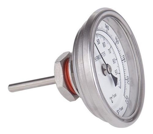 termómetro con sonda inoxidable cerveza artesanal