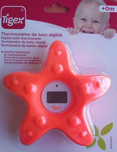 termómetro de baño digital bebe - tigex
