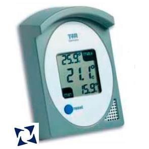 termómetro digital de máxima y mínima 30-1017-10
