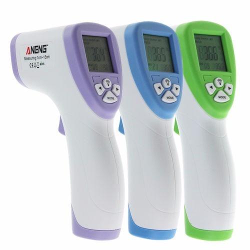 termómetro  laser   infrarrojo