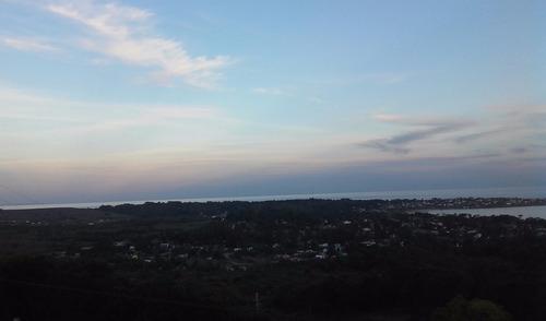 terreno a la venta con vista al mar en el cerro san antonio