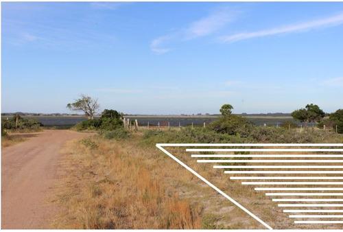 terreno a metros de laguna garzón; 1000m2