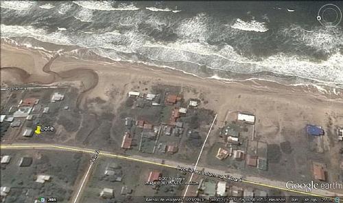 terreno arachania sobre costanera contrafrente al mar