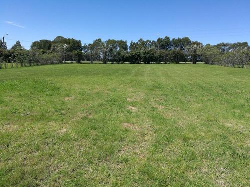 terreno barato financiable en barrio privado canelones - a14