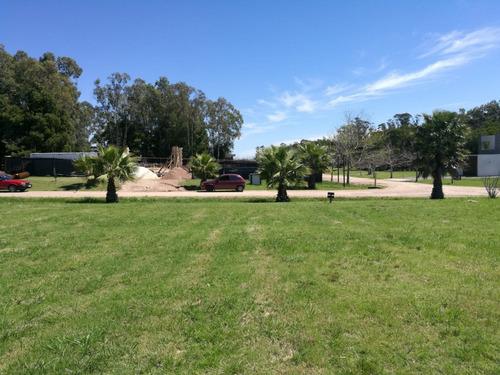 terreno barato financiable en barrio privado canelones - a15