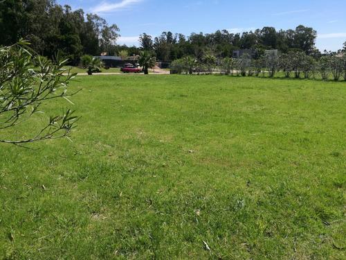 terreno barato financiable en barrio privado canelones - a16