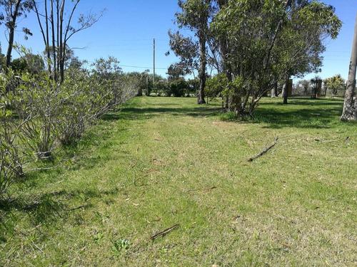 terreno barato financiable en barrio privado canelones - a19