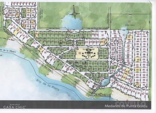terreno, barrio privado, seguridad, puerto, helipuerto