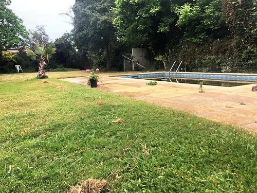 terreno con piscina a metros del mar!!