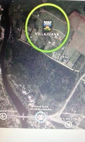 terreno de 5000 m2 en barrio privado villa juana