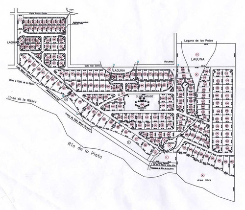terreno en barrio privado con puerto privado, seguridas, amenities, restaurante