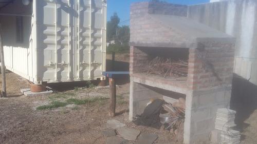 terreno en las toscas con contenedor equipado!