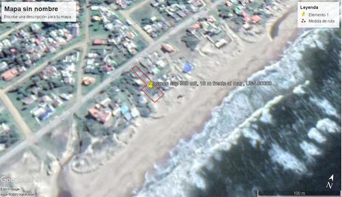 terreno en primera linea en antoniopolis, 18 m frente al mar