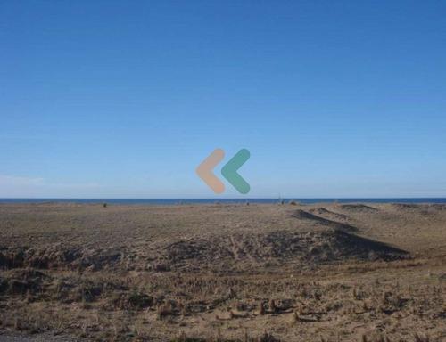 terreno en punta negra con 500 metros de frente a la costa. - ref: 845