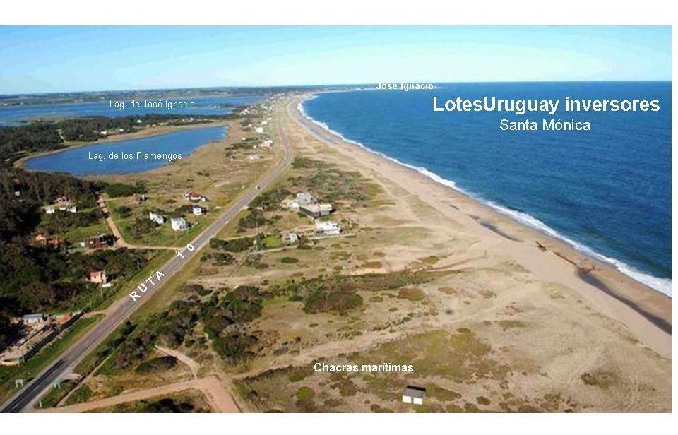 terreno en santa mónica a metros de mar y laguna