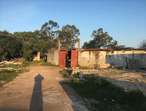 terreno, galpón y casa en venta o alquiler.
