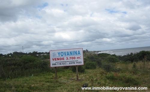 terreno playa hermosa 3780 mts. frente al mar (ref. y146 )