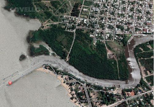 terreno sobre arroyo, proyecto marinas, costa, turístico.