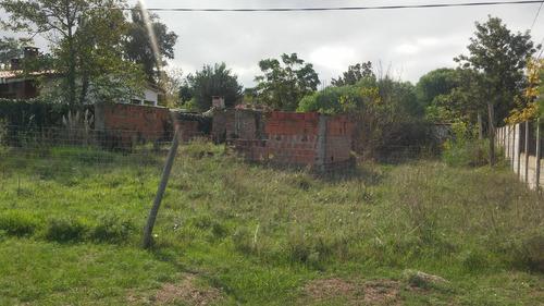 terreno sobre calle principal