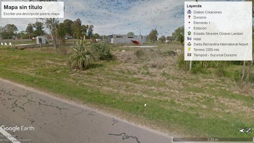 terreno sobre ruta 5. entrada por dos calles